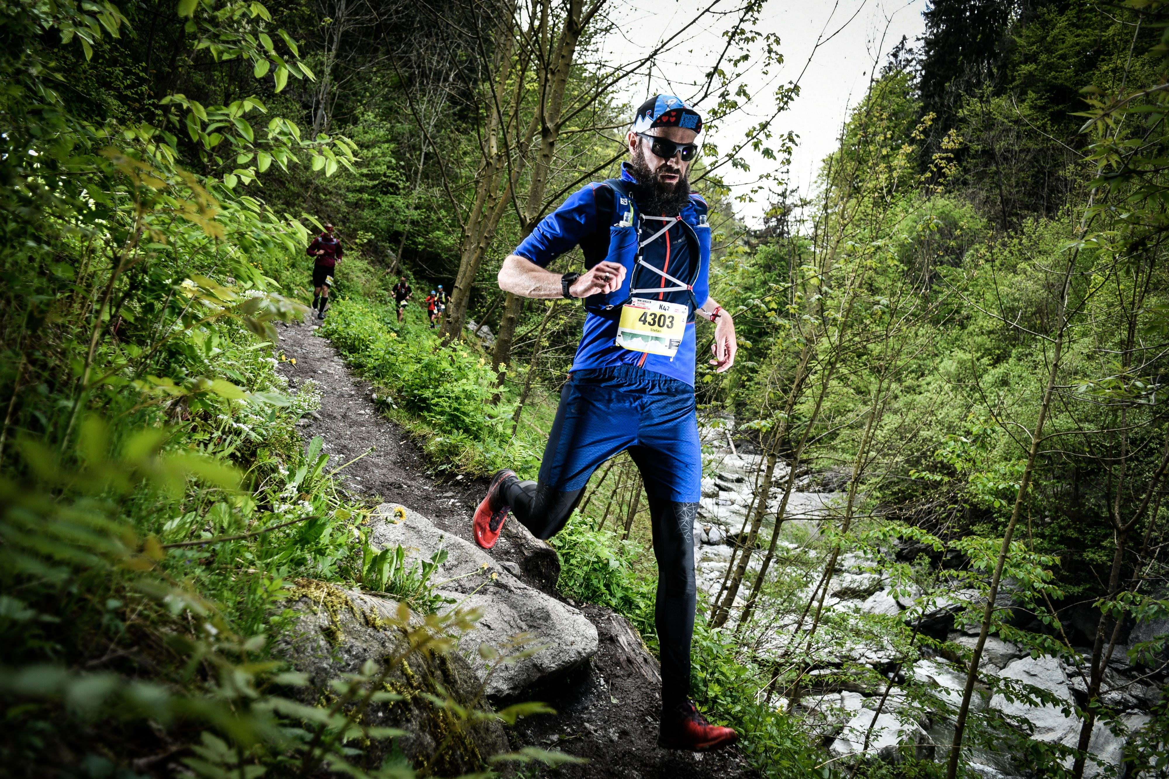 Stefan Müller beim Innsbruck Alpine Trailrun Festival