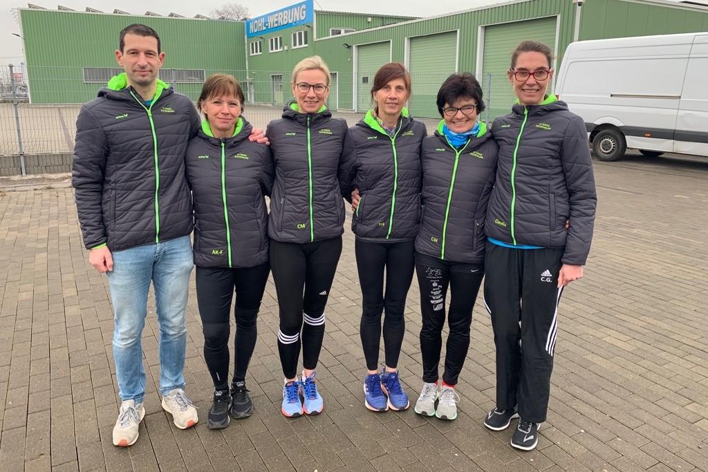 von links - Stefan Thum, Annika Karfs-Fiedler,Carola Müller, Yvonne Heck, Conny Wagener und Claudia Göbel