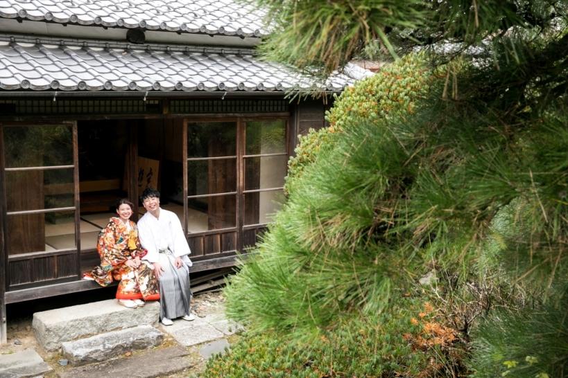 岡田記念館で一番の人気を誇る撮影スポット「竹林の小道」