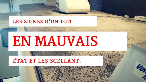 Inspection, entretien et réparation de toit de vR et roulotte Trois-Rivières