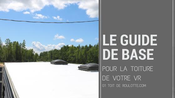 Toiture de VR, toit de vr, toiture de roulotte