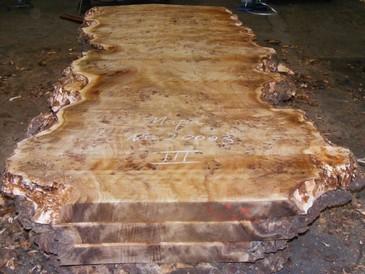 Pappel Maser Tischplatten