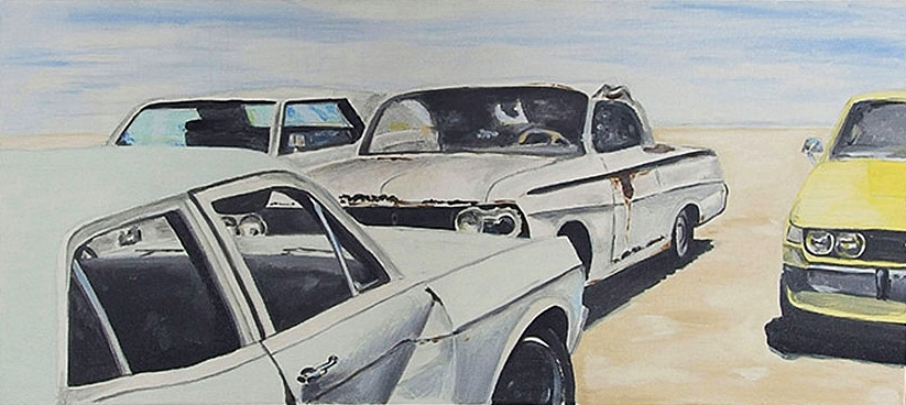 Desert Parking cars autos Wüste