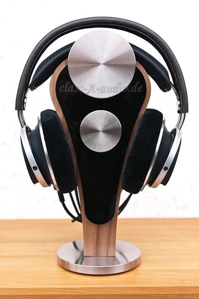 Kopfhörerständer Pharos mit Edelstahl- und Acryl-Glas-Zubehör