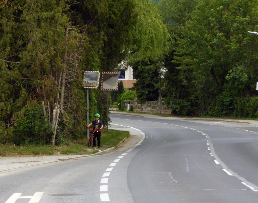 Auf der Suche nach dem Radweg