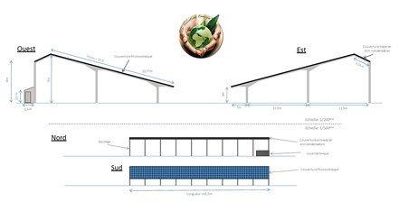 hangar agricole photovoltaique
