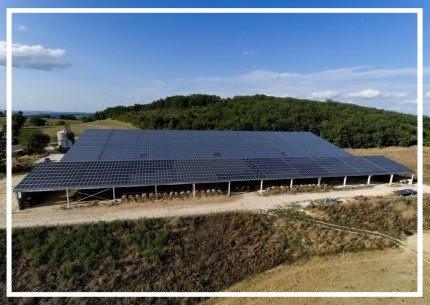 Hangar photovolta que dans le tarn eco solution energie - Hangar photovoltaique agricole gratuit ...
