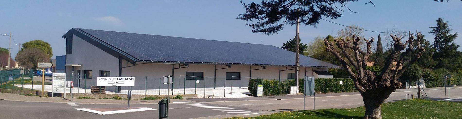 Hangar photovolta que la r union co solution nergie - Hangar agricole photovoltaique gratuit ...