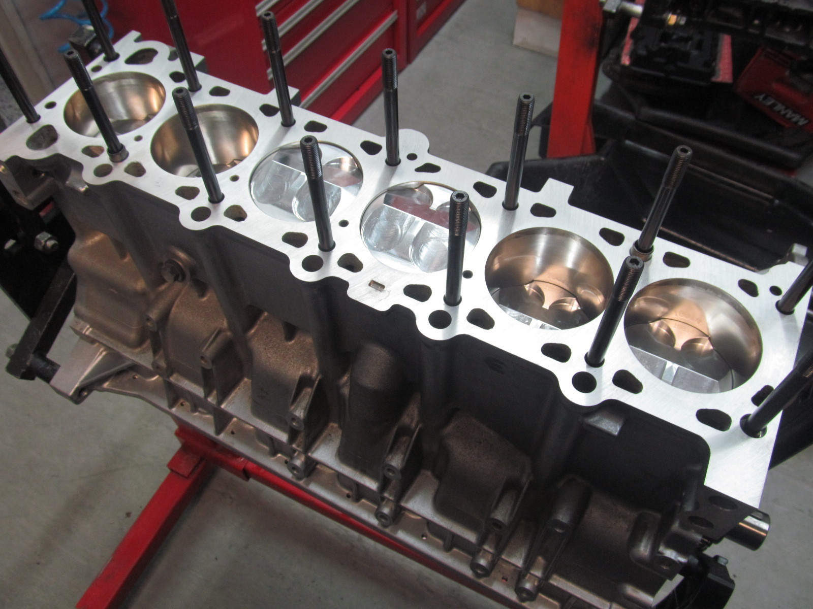 M52B20 Race prepped block