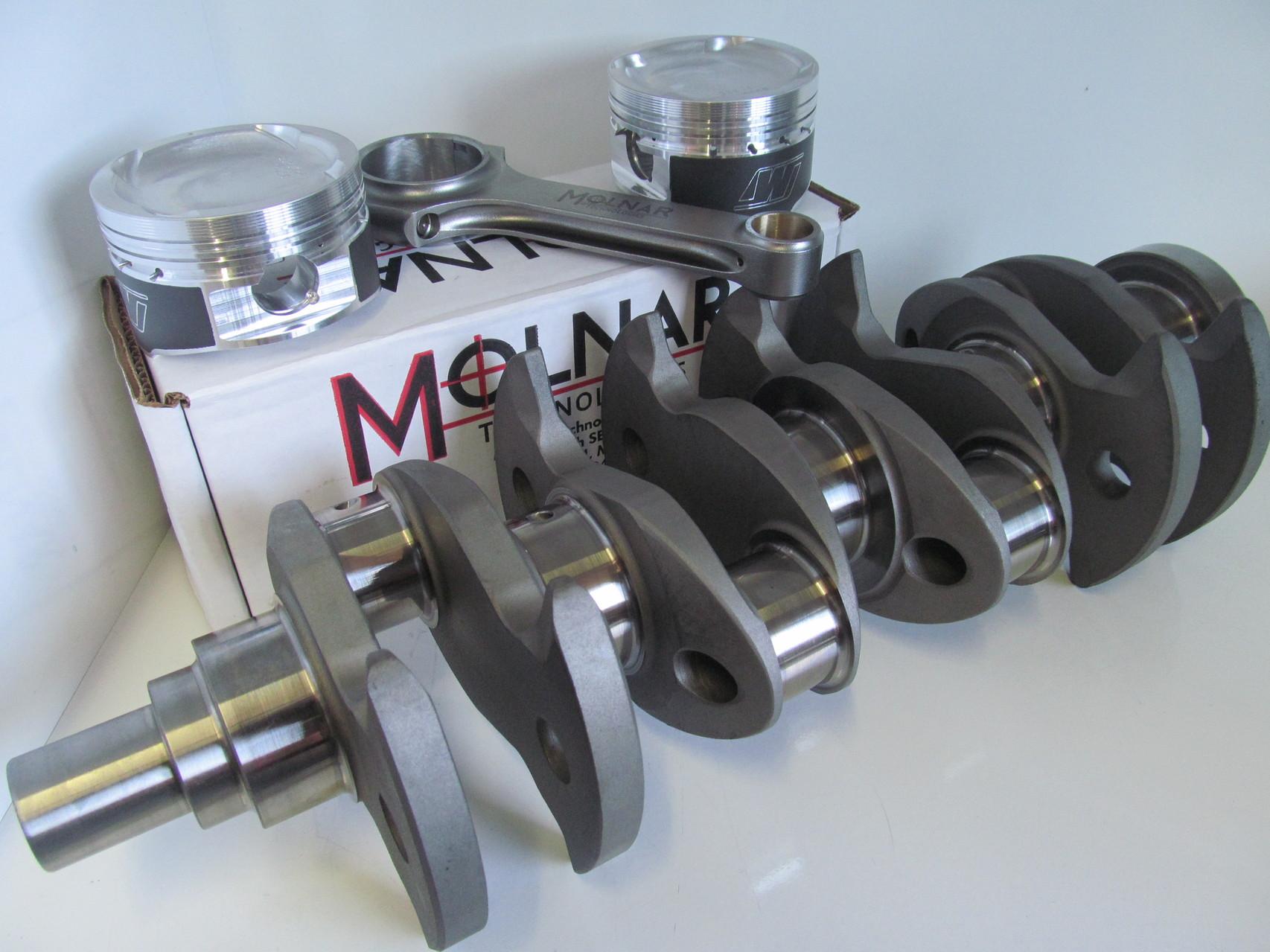 Molnar 4G63 2.2 stroker crank