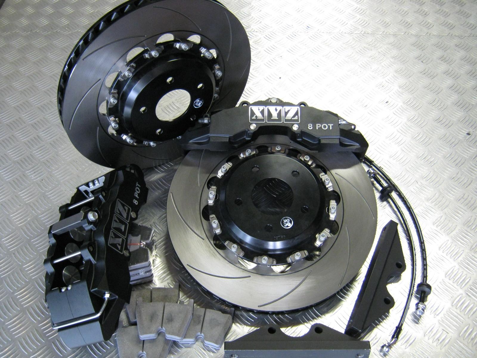 XYZ Brakes 8 piston Holden
