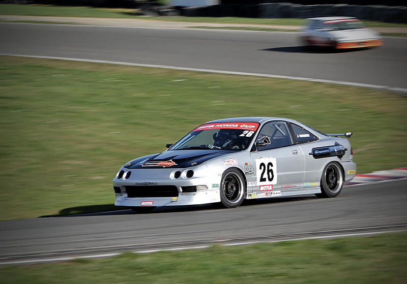 Our old Integra Race Car