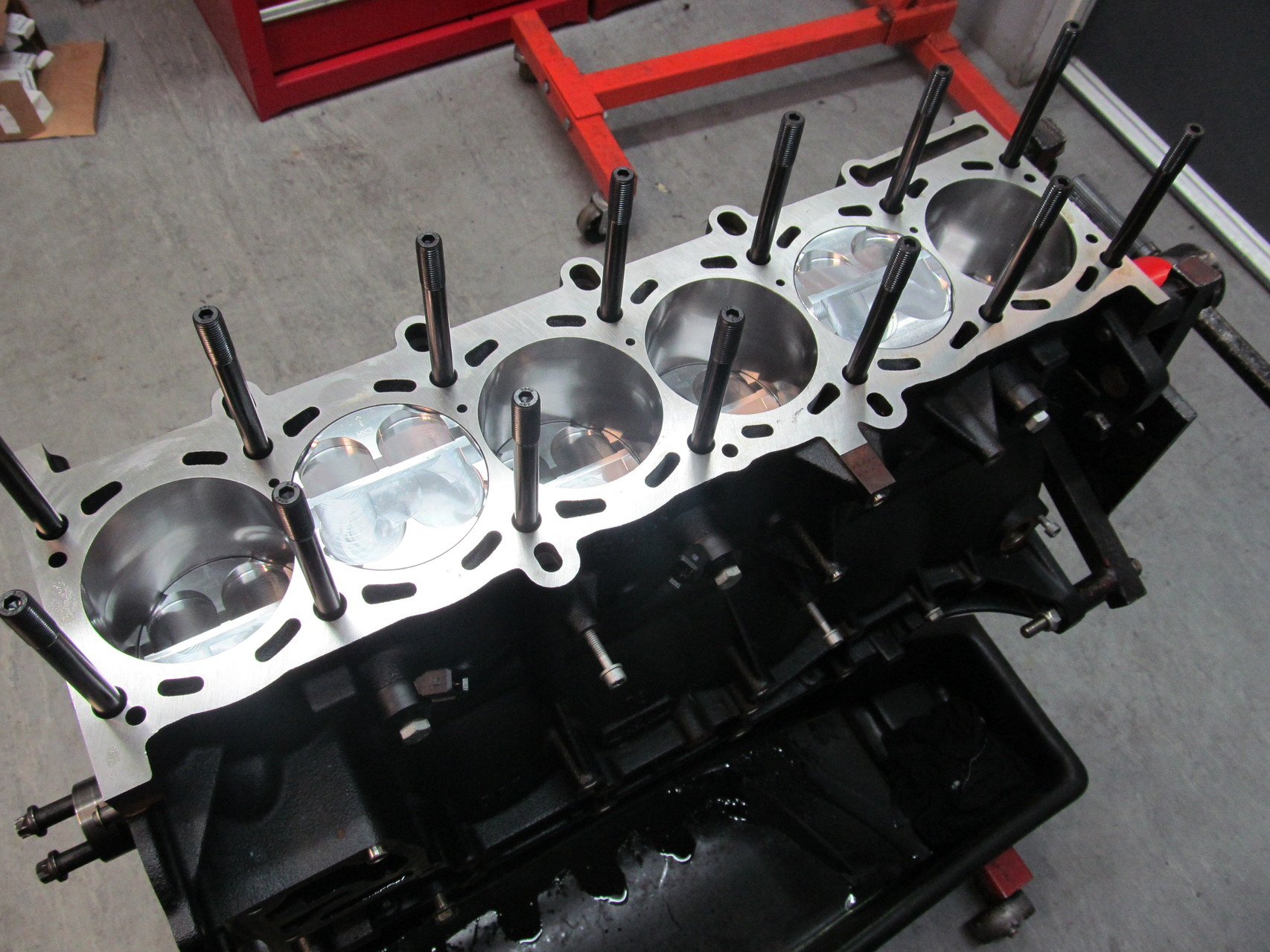 BMW S54 Race engine prep