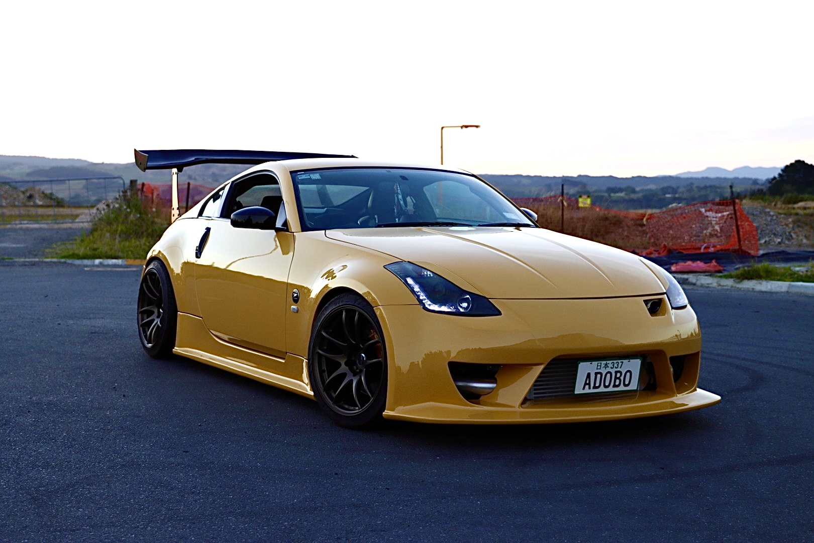 Nissan 350z with XYZ Coil Overs
