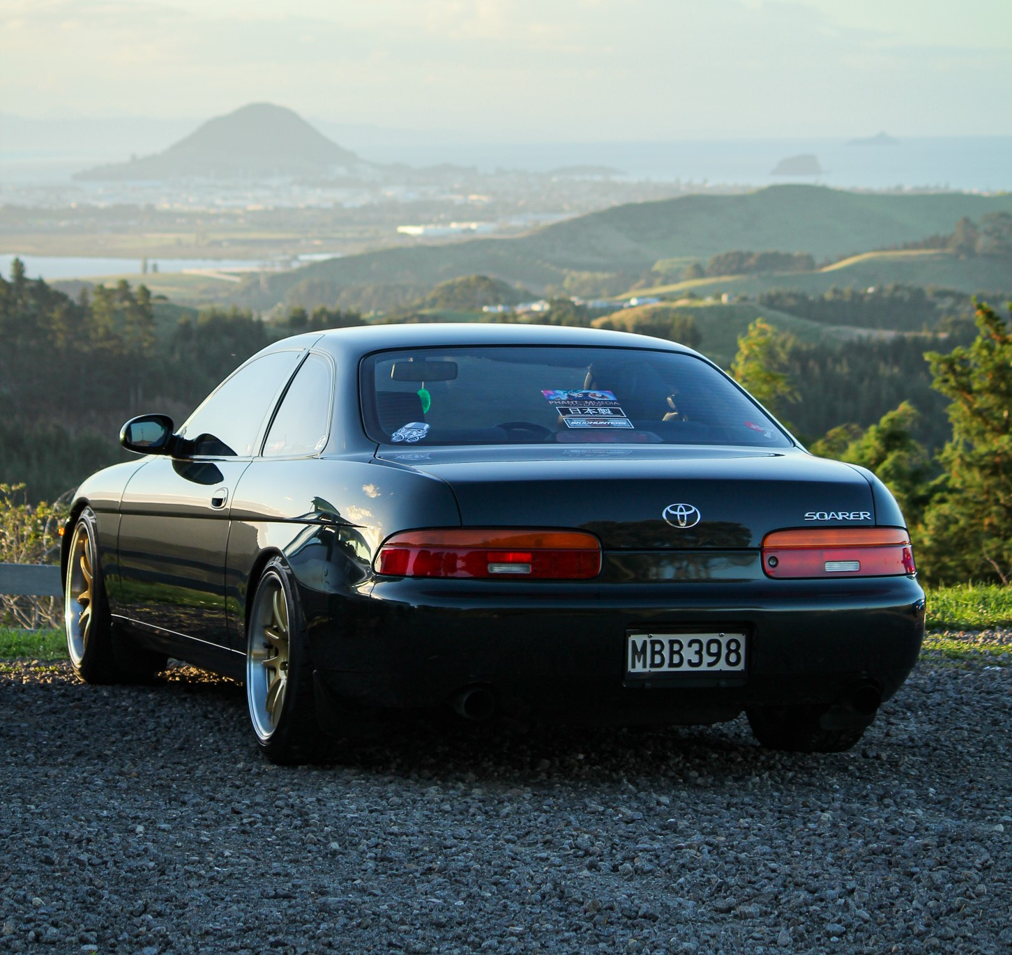Toyota Soarer with XYZ Coil Overs