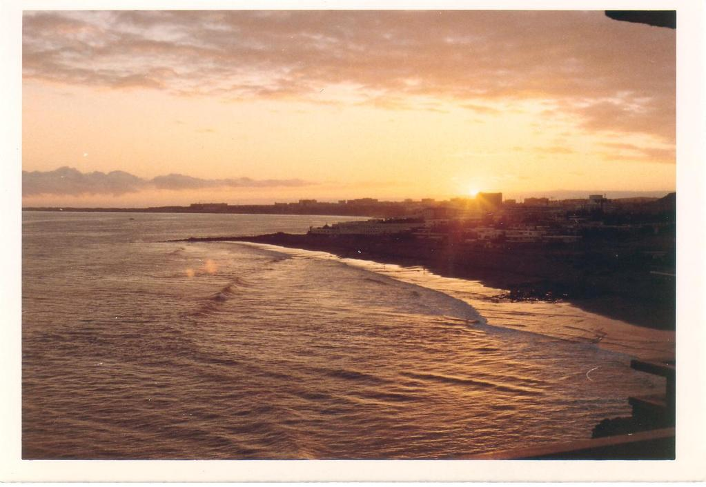 Blick auf Playa del Ingles vom Aparthotel IFA San Agustin aus