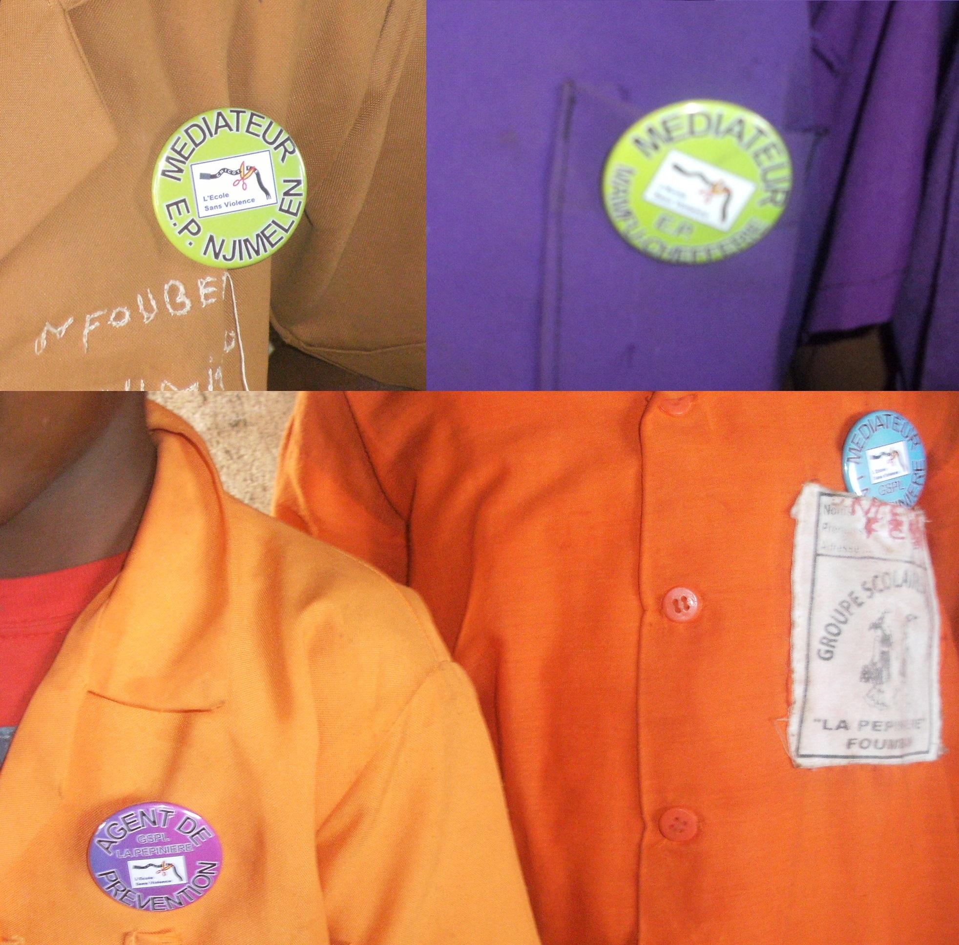 depuis peu on reconnait les médiateurs et les agents de prévention à leurs badges