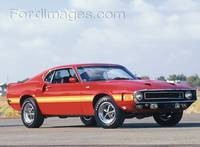 Mustang Shelby GT500 1969