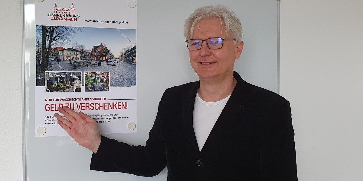 Das Ahrensburger Stadtgeld ab 31.05.2021: Interview mit Christian Schubbert