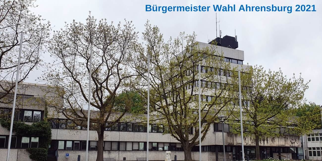 Bürgermeisterwahl Ahrensburg 2021: Interview mit Christian Schubbert
