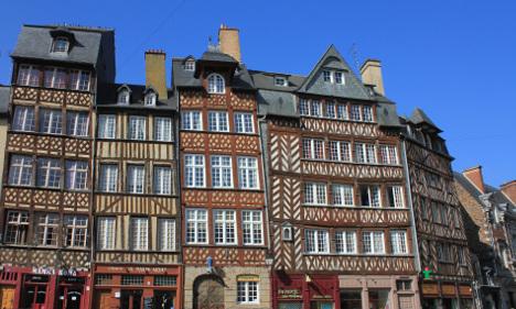 Hauptstadt Rennes. Urlaub in der Bretagne, Maison Dodo