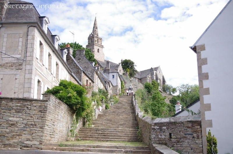 Reisen durch die Bretagne . Vom Maison Dodo nach Lanninon