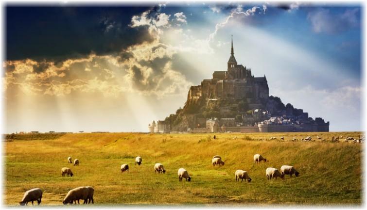 Mont Saint Michel Ferienzimmer. Maison Dodo