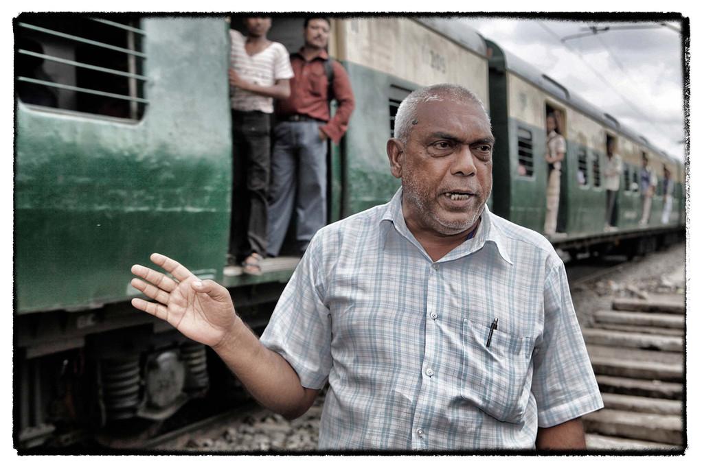 Mohammed Almagir gründete 1995 die NGO Tiljala Shed