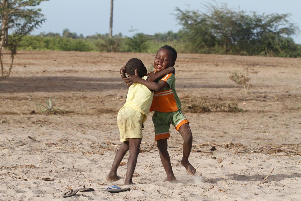 Ringen ist der Nationalsport des Senegal