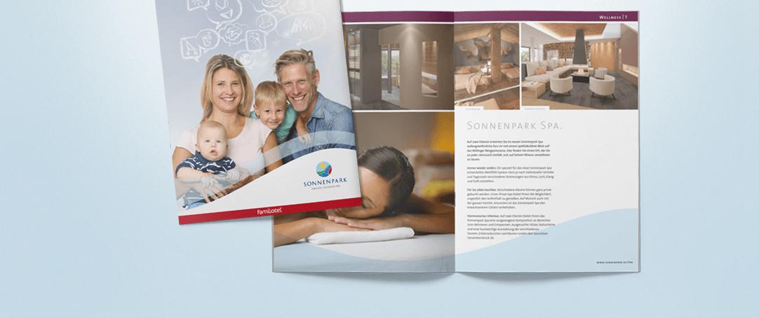 Katalog-Relaunch für das Familienhotel Sonnenpark im Sauerland