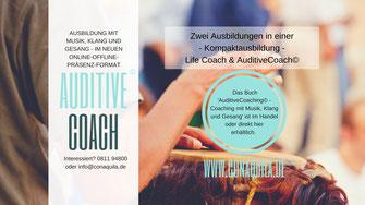 Auditive Coaching(c) Coaching mit Musik, Klang und Gesang. Von Martina M. Schuster