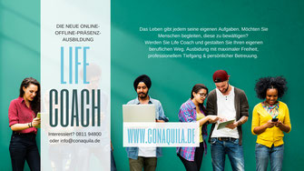Life Coachingausbildung von Martina M. Schuster, ConAquila GmbH
