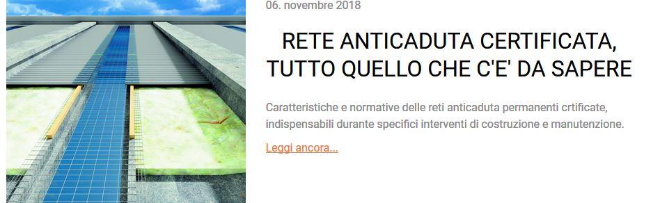 RETE ANTICADUTA