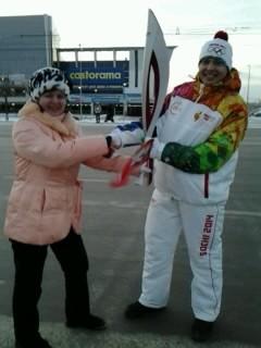 Сбылась мечта: я держала факел Сочинской Олимпиады и пожимала руку лучшим олимпийцам страны!