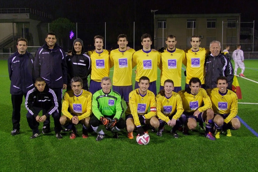 2014/12/05 : Victoire TOAC II contre MATRA 5 à 1