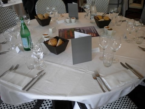 La table, important pour le TOAC