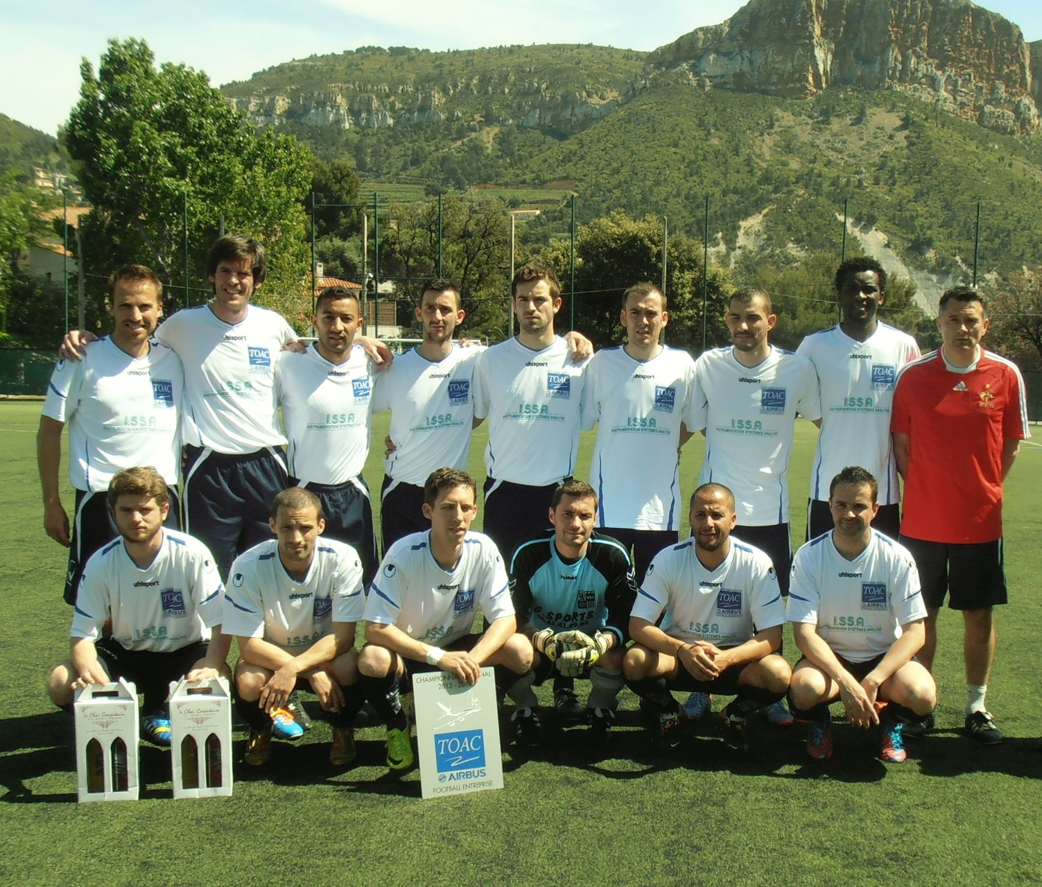 2013-14 - Quarts contre CASSIS