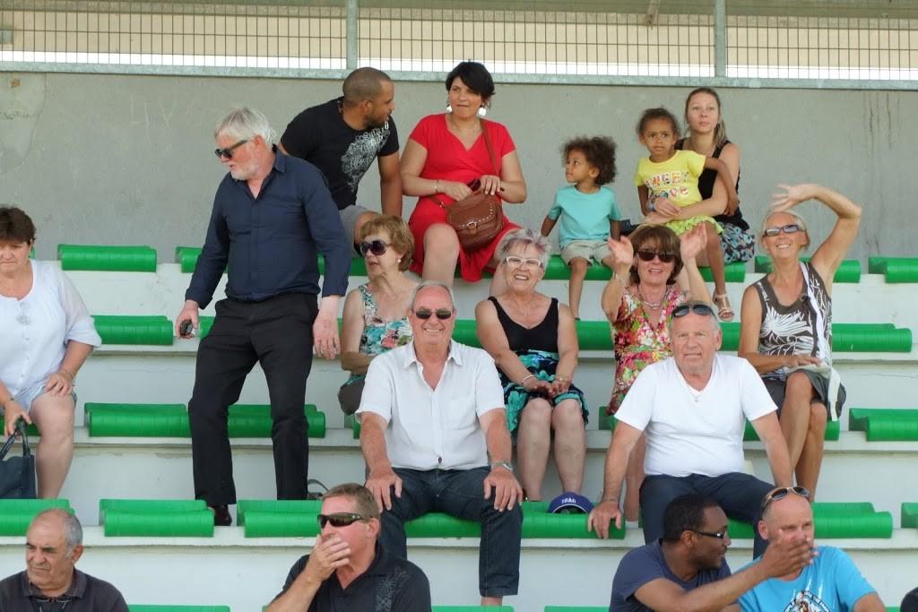 Le public présent tout le long du match
