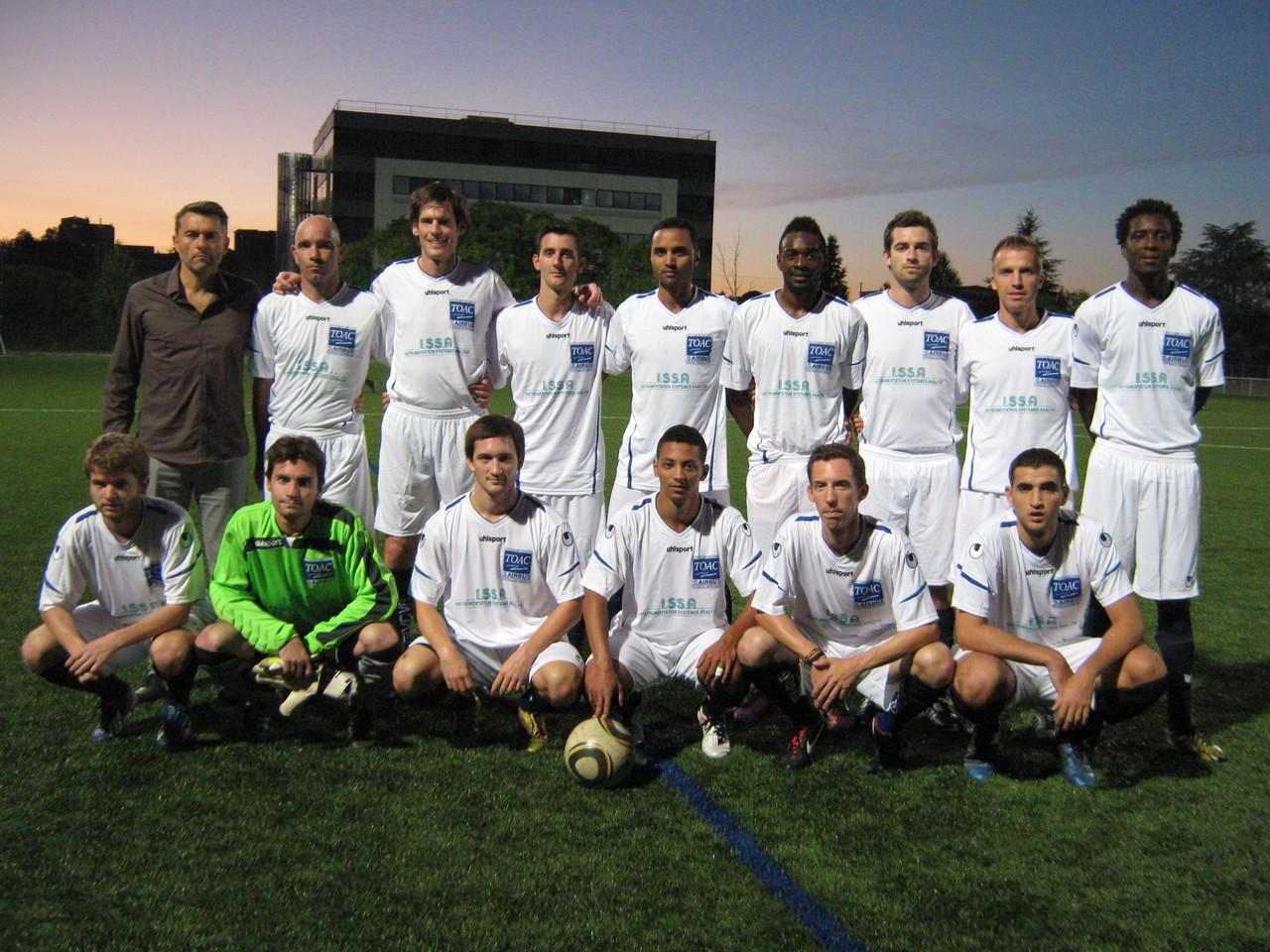 TOAC I - 1er match de la saison contre Les Municipaux