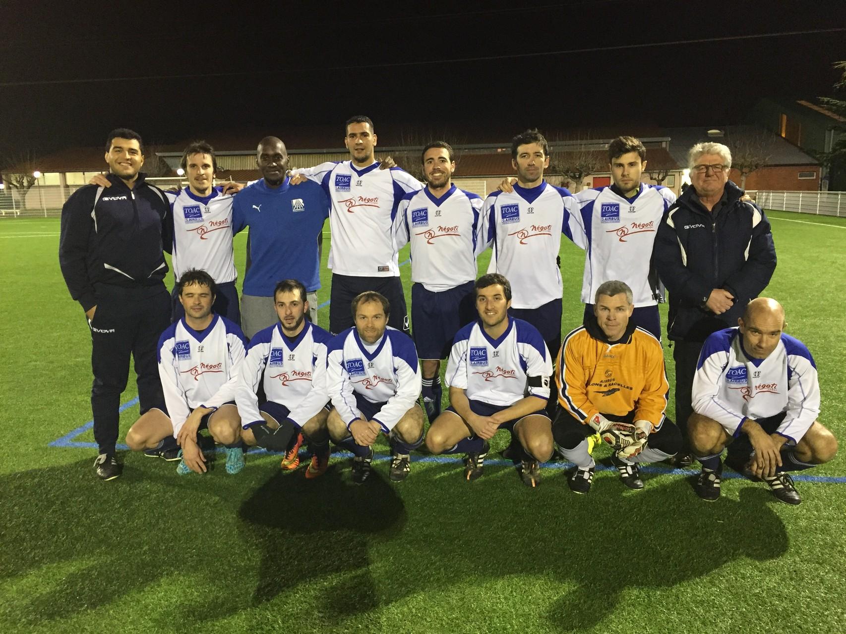 2016 - TOAC II - Match contre AZF (2 - 2)