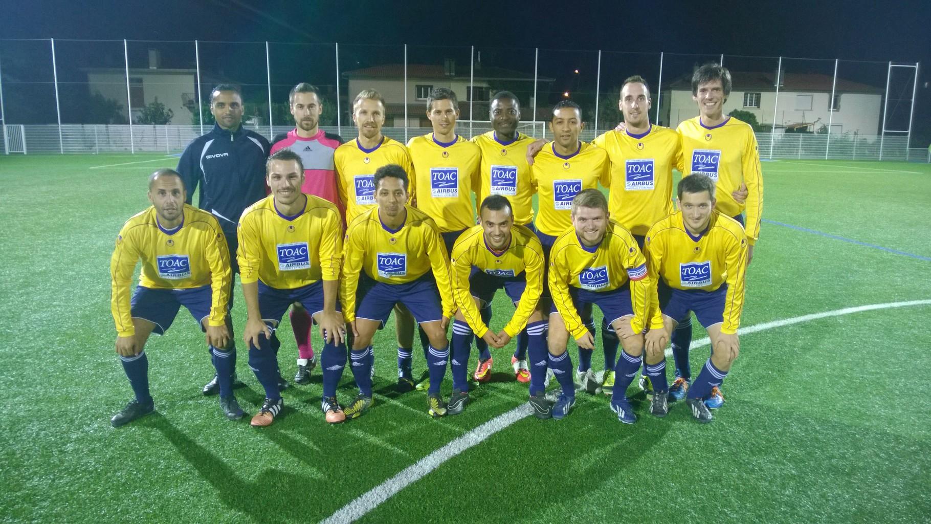 2015-16 - 1er match contre Les Municipaux