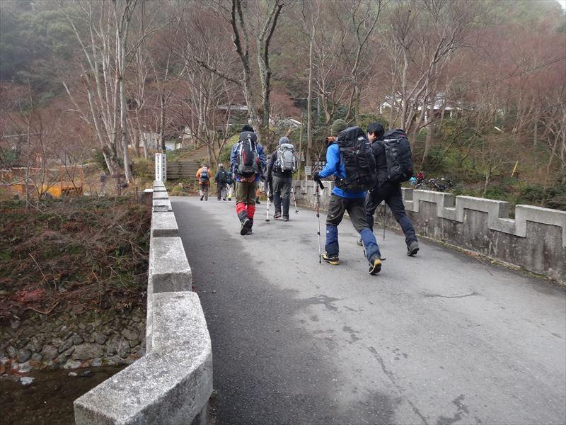2014年初詣山行スタート!