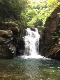 二段8m滝