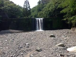 二つ目の堰堤