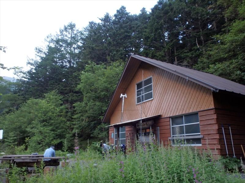 素敵な小屋でした