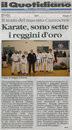 articolo apparso sul giornale  Il quotidiano della Calabria giorno 19.05.2010