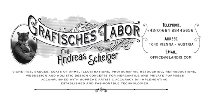 ANDREAS SCHEIGER - prints - letters - objects