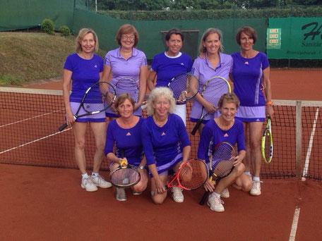 Von links oben Sonja Helk, Irena Richter, Conny Schroers, Claudia Ginders, Jutta Meier Unten von links Petra Hinnüber, Daggi Söhngen, Birgit Widerstein