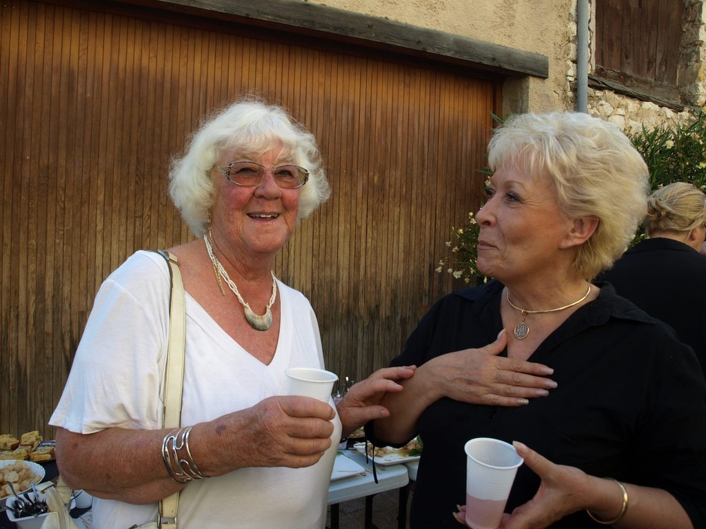 Ingrid Molenaard et Dady Taconnet