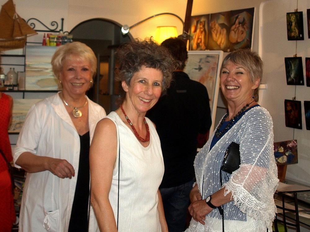 Dady, Claudia et Brigitte...